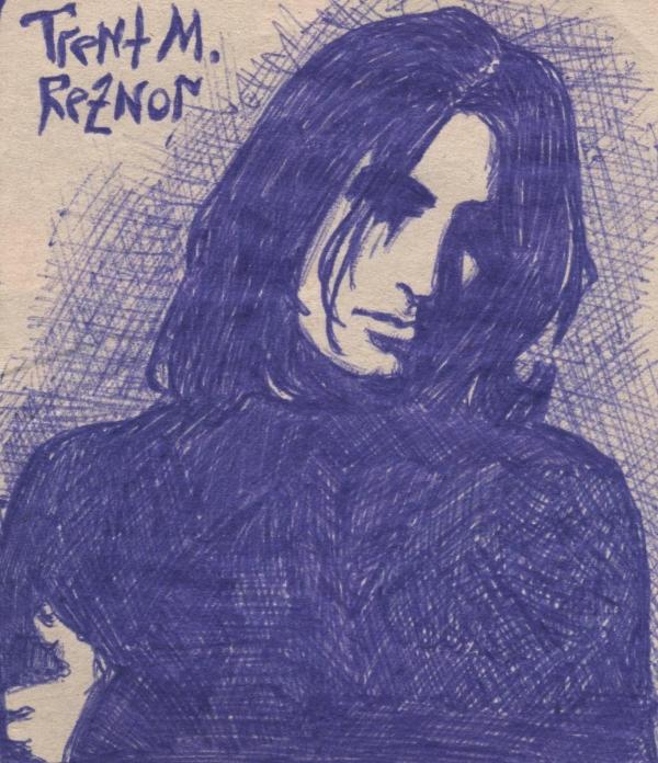 Trent Reznor by Twiggisha